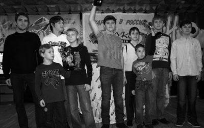 Итоговое награждение участников турнира «EASYKART-RUSSIA» — 2009