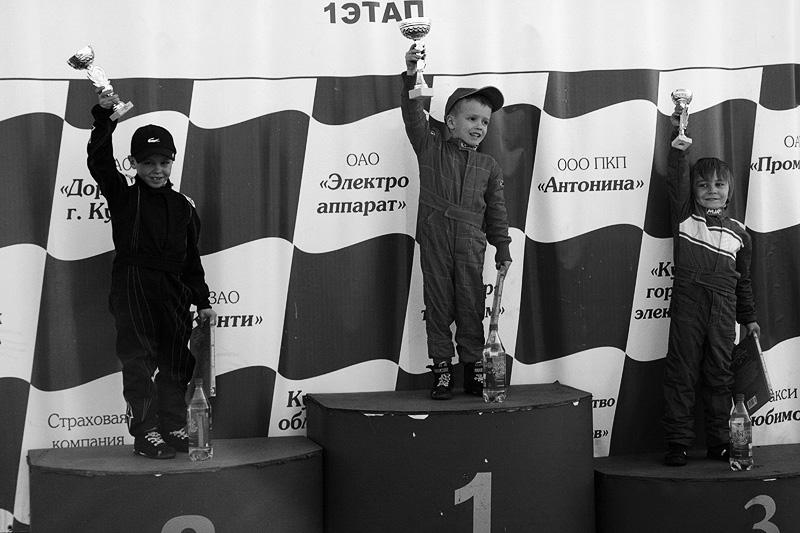 Четырехлетний пилот стал победителем этапа «Easykart Russia»