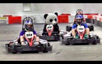 Go Kart Battle | Dude Perfect