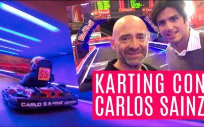 Duelo en el karting con Carlos Sainz — El Garaje de Lobato