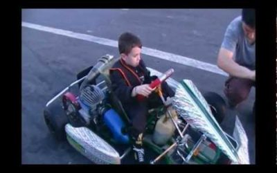 Valentino Borsani Karting niños 6 Años