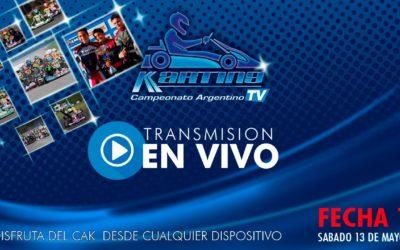 CNK Campeonato Argentino de Karting — 1º Fecha Zarate — Sábado 13/05/2017