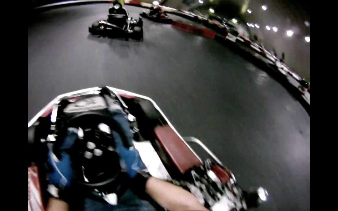 #3 Форца (Forza) картинг Москва 01.11.11 Роман Кирюхин GoPro