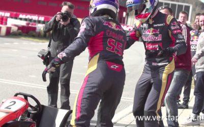 The F1 karting challenge — STR vs. RBR: Verstappen/Sainz vs. Ricciardo/Kvyat (18/02/2015)