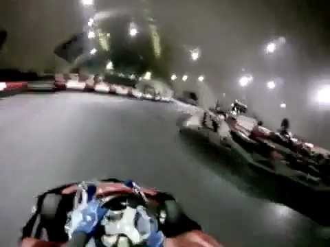 #1 Форца картинг (Forza) Москва 26.10.11 GoPro first try