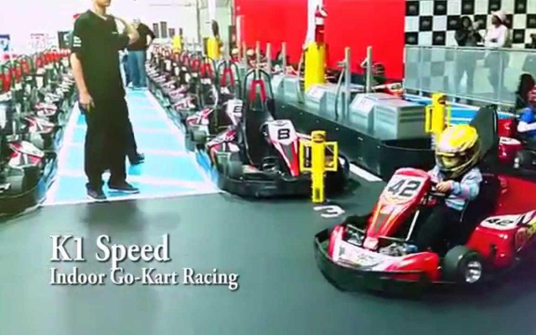 K1 Speed Indoor Go-Kart Racing Junior Karting (7 years old)