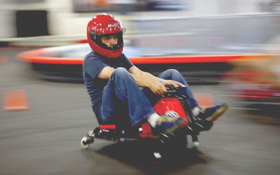 Crazy Carts take over Go Kart Track
