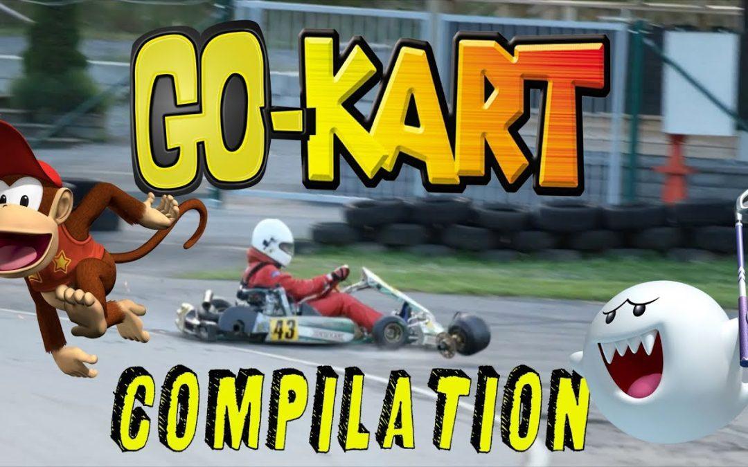 Go-karts brutal crash & funny fails compilation #3