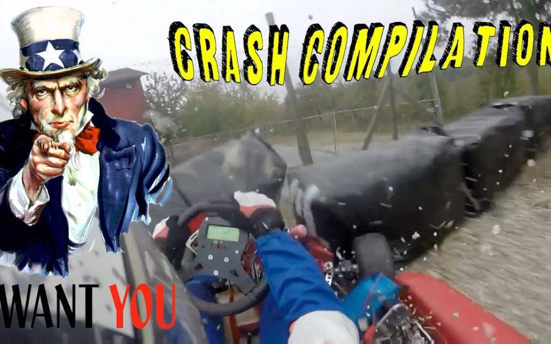 GO KART CRASH compilation! with your videos!#8