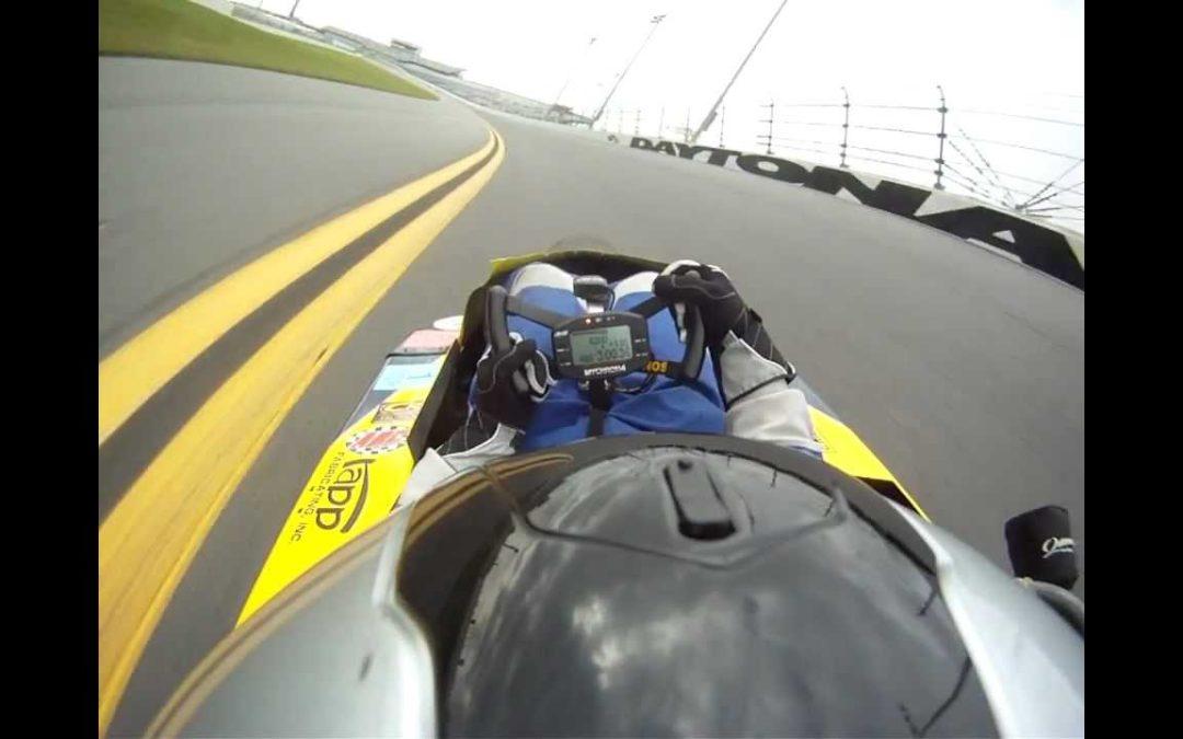Karting — A Lap At Daytona International Speedway