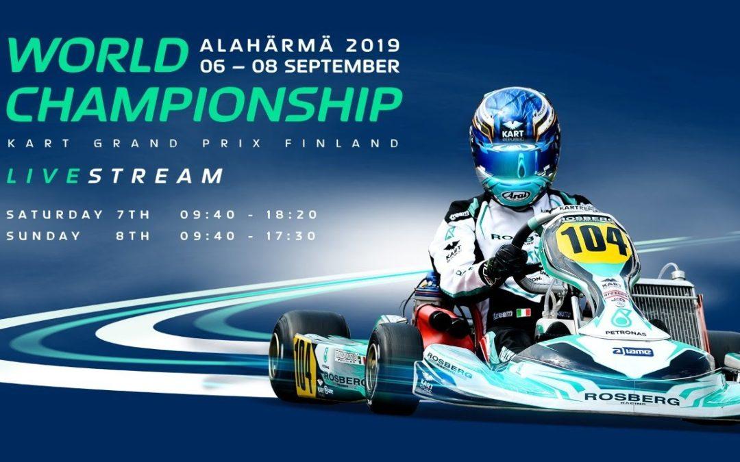 FIA Karting World Championship 2019 OK / Junior Finland Saturday