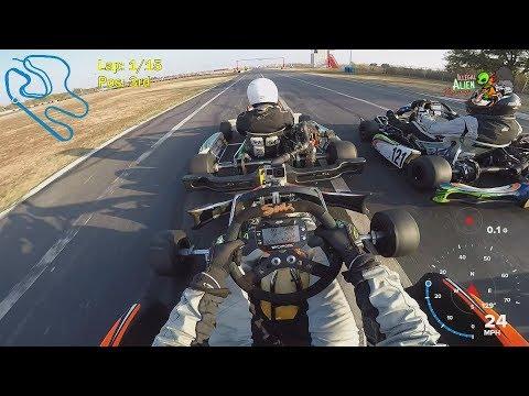 Ep. 4 — LO206 Kart Race at Dallas Karting Complex (November 2017 )