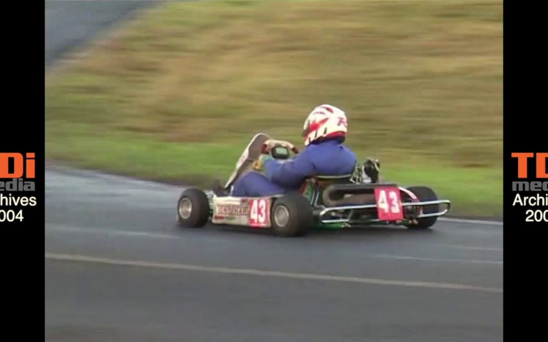 Classic Club Karting in 2004: Junior Rotax Heat 1 at the MBKC November meeting.