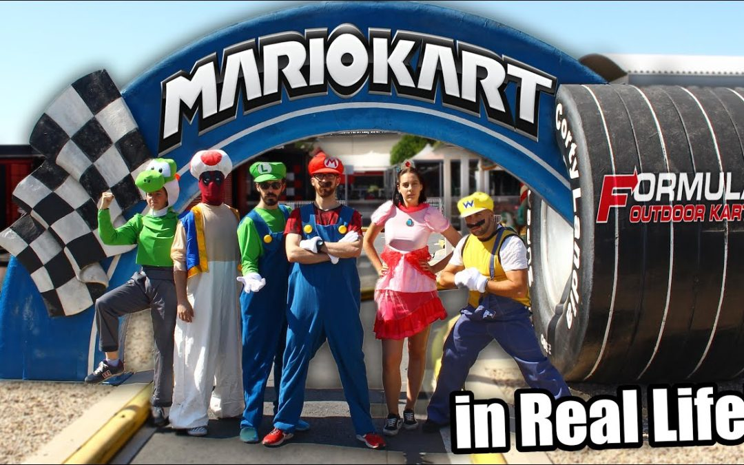 MARIO KART RACE in Real Life! 🏁