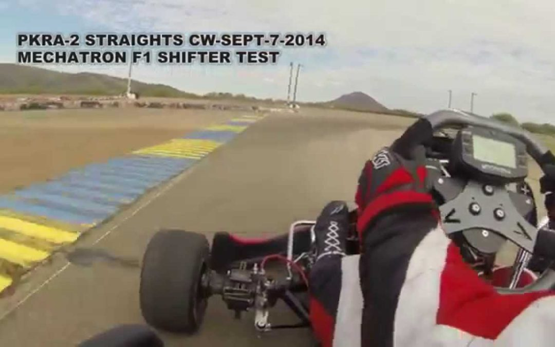 Mechatron ME Paddle Shifter F1 — Shifter Kart Test Session — Driver: Manuel Gil del Real